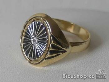 Prsten zlatý 167