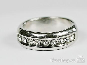 Prsten s kameny Jablonecká bižuterie 7816