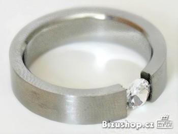 Prsten  zirkon kamen 7930, Jablonecká bižuterie