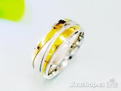 Snubní prsten z oceli 16774