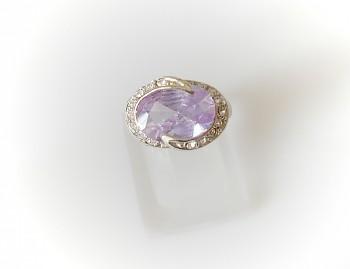Prsten fialový 3221018
