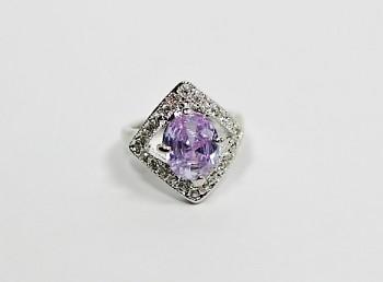 Prsten zirkon fialový 3221117