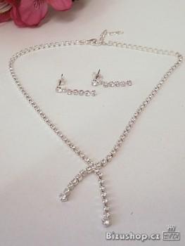 Set Náušnice a náhrdelník 31991 jablonecká bižuterie
