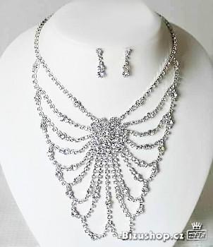 Set náhrdelník a náušnice Jablonecká bižuterie 30001001