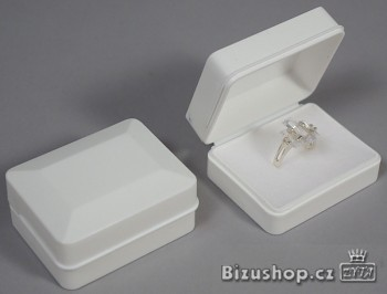 Krabička na šperky bílá - 1486
