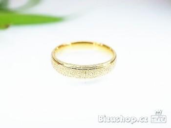 Snubní ocelový prsten 4 mm 16942A