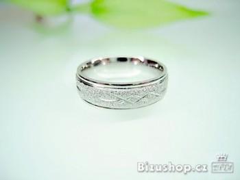 Chirurgická ocel Snubní prsten, 6 mm