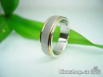 Zyta Ocelový prstýnek snubní 1582119