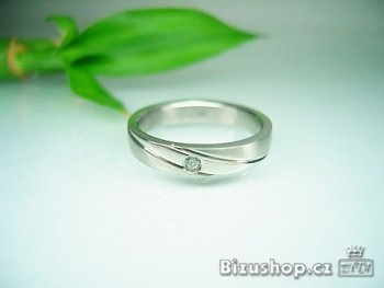 Zyta Chirurgická ocel snubní prsten Horizont 15824