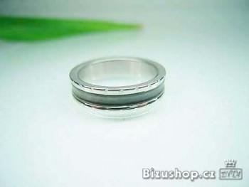 Ocelový prsten Impuls 5 mm 15834