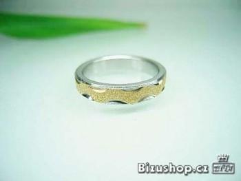 Chirurgická ocel prsten 4 mm