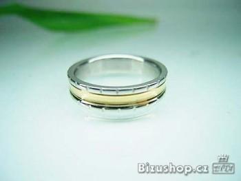 Chirurgická ocel snubní prsten Minerva 5 mm