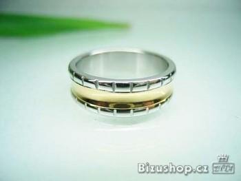 Chirurgická ocel Snubní prsten Minerva 7 mm