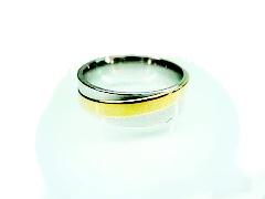 Zyta Chirurgická ocel prsten Onyx 1678618