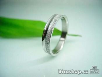 Chirurgická ocel snubní prsten Passion 6 mm