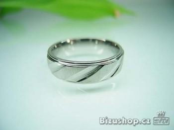 Ocel prsten 7 mm 16806
