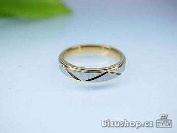 Snubní ocelový prsten Venus 4 mm 16686 X