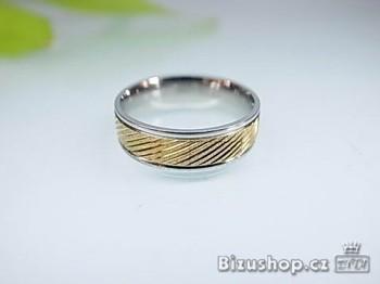 Snubní prsten z oceli Wendy 6 mm 16689