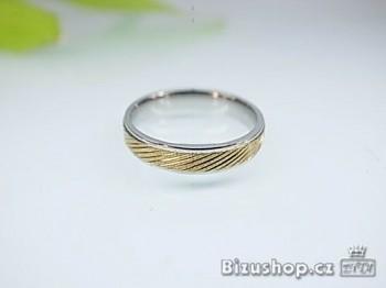 Chirurgická ocel snubní prsten Wendy 4 mm 16689A
