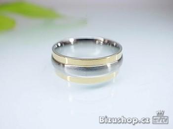 Chirurgická ocel prsten 8 mm 1668716 X