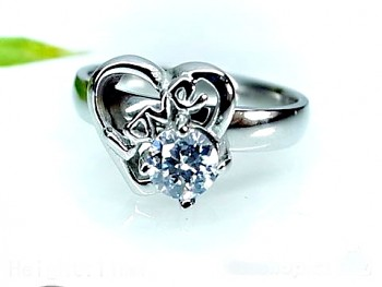 Prstýnek ocelový Love 17703