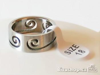 Zyta Chirurgická ocel Prsten 15028
