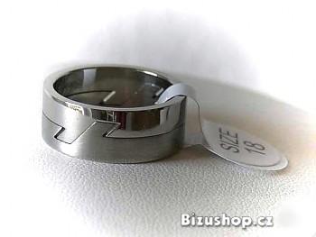 Zyta Chirurgická ocel prsten 15157