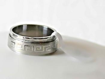 Chirurgická ocel prsten 1515819