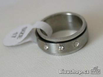 Chirurgická ocel prsten Zirkon