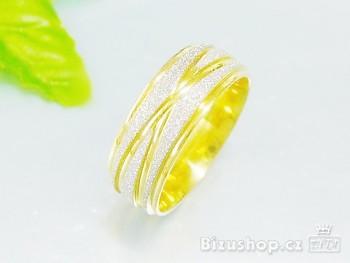 Snubní prsten z oceli 8 mm 15712