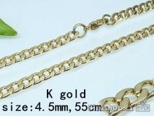 Řetízek zlatý z chirurgické oceli 17941 UNISEX  Zyta