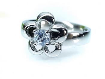 ZYTA prsten ocelový Květina 19962