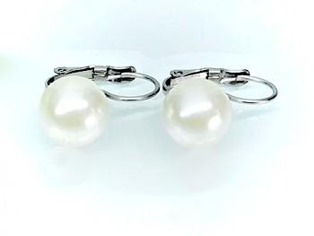 Zyta Náušnice  chirurgická ocel  perla 19823