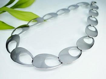 Luxusní náhrdelník ocelový 19940