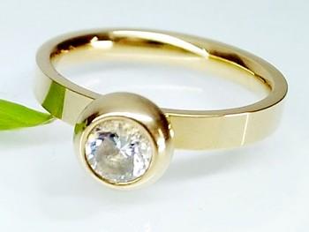 Prsten zlatý Ocelový Zirkon 1995916 Zyta