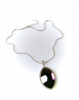 Ocelový náhrdelník s kamenem 1599101