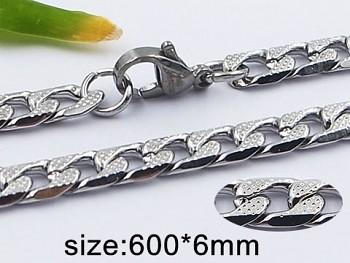 Řetízek z chirurgické oceli 60 cm 20391 UNISEX