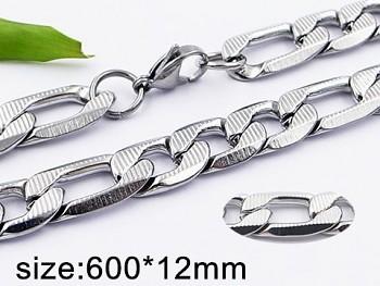 Řetěz z oceli pánský 20397