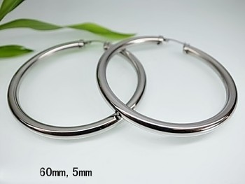 Zyta Náušnice kruhy z chirurgické oceli 20715
