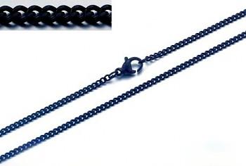 Zyta Řetízek z chirurgické oceli černý 20830