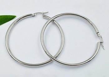 Zyta Náušnice kruhy chirurgická ocel 20840