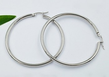 Náušnice kruhy chirurgická ocel 20840