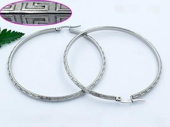 Zyta Náušnice kruhy chirurgická ocel 20846