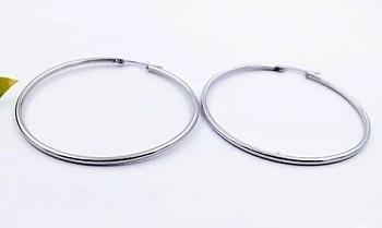 Zyta Náušnice  z chirurgické oceli kruhy  20842