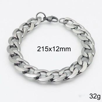 Zyta Pánský náramek z chirurgické oceli 20875